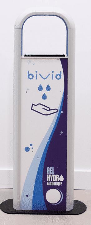 Dispensador de Gel Hidro Alcoholico